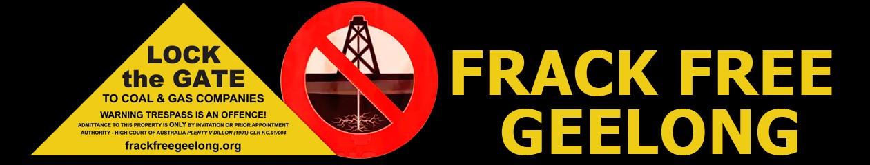 Frack Free Geelong